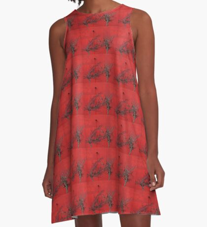Trees are Hot A-Line Dress