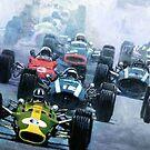 1967 Dutch GP Zandvoort by Yuriy Shevchuk