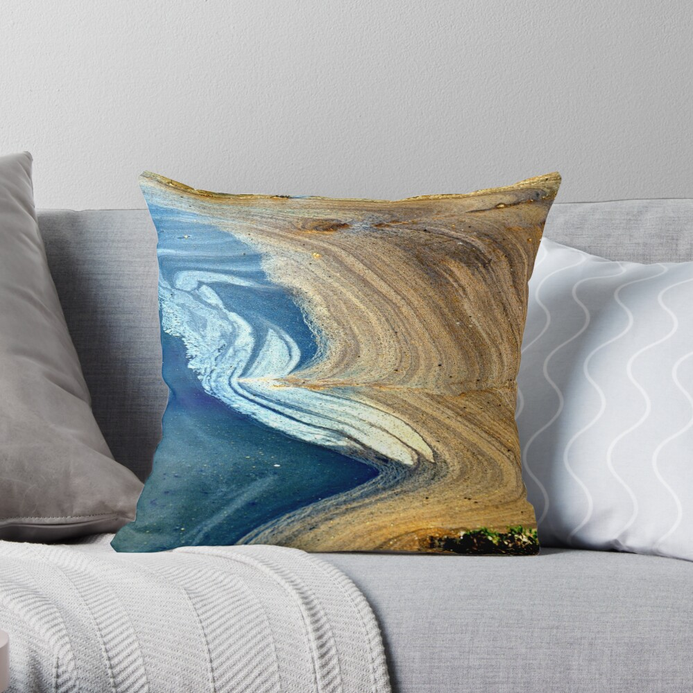 Primordial Soup Throw Pillow By Btwgf Redbubble