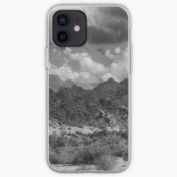 Wonderland Of Rocks (B&W Version) iPhone Soft Case
