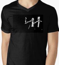 Muppets Fiction Men's V-Neck T-Shirt