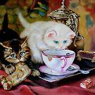 High Tea after Henriette Ronner-knip by Hidemi Tada