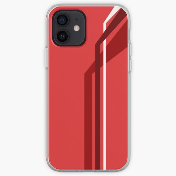 Flying Vanes - Red iPhone Soft Case