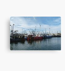 Fishing Boats, New Bedford, MA Canvas Print