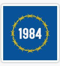 EU 1984 Sticker