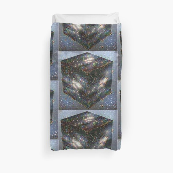 Space Squared Duvet Cover