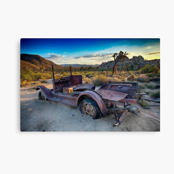Car #1, Joshua Tree National Park Canvas Print