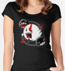 Ghost of Sparta Women's Fitted Scoop T-Shirt