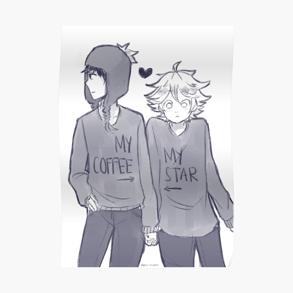 Creek - Coffee and Star Poster