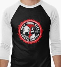 NYC Death Match Men's Baseball ¾ T-Shirt