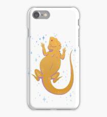 glitter lizard iPhone Case/Skin