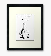FTL  Framed Print