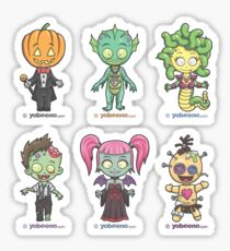"""Little Monster Mini's"" Sticker Sheet 2of2 Sticker"
