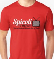 Spicoli TV Repair Unisex T-Shirt