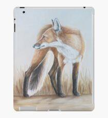Red Fox Looking Back iPad Case/Skin