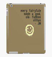 BORED VILLIAN 1 iPad Case/Skin