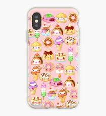 Kawaii Desserts  iPhone Case