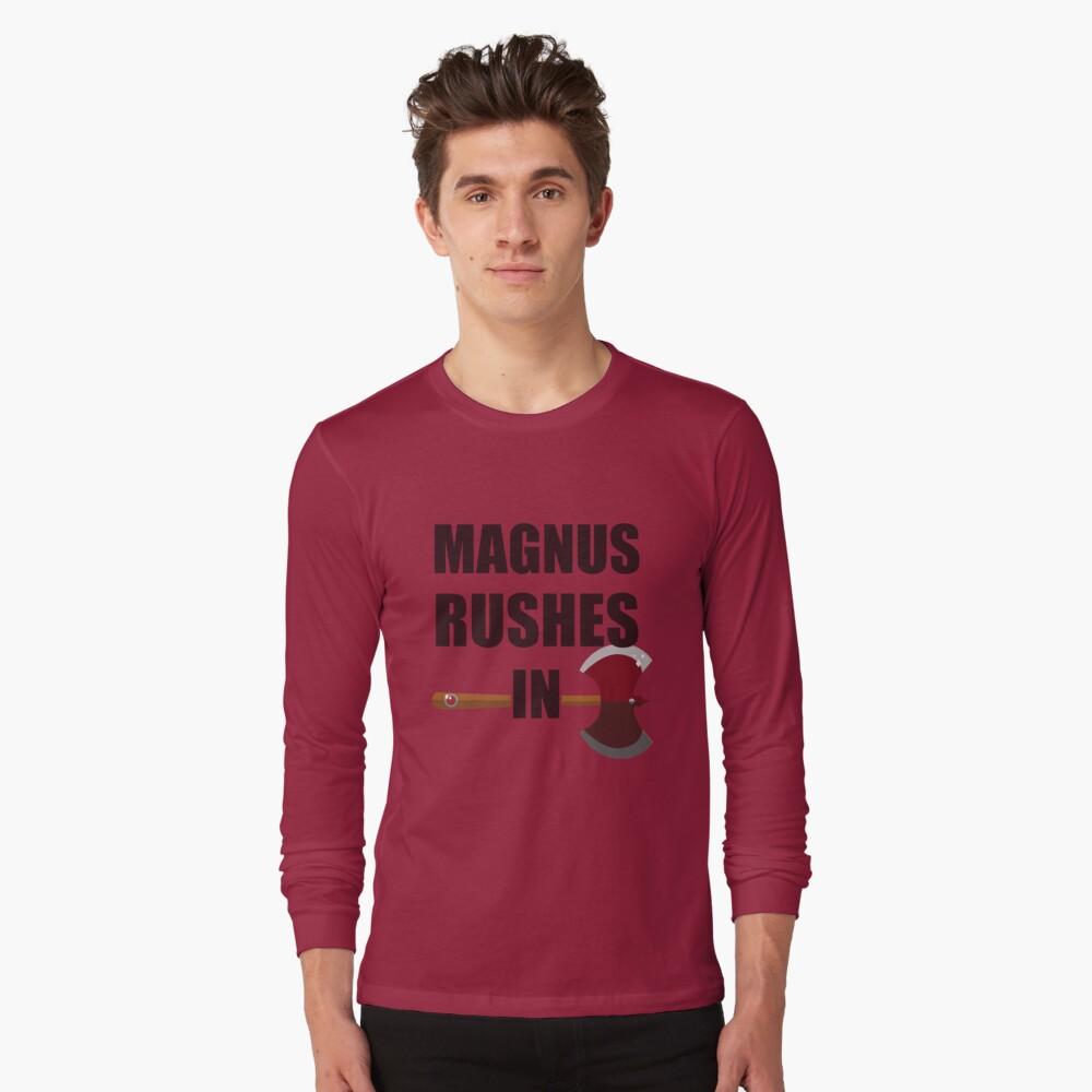 [TAZ] MAGNUS RUSHES IN! Long Sleeve T-Shirt