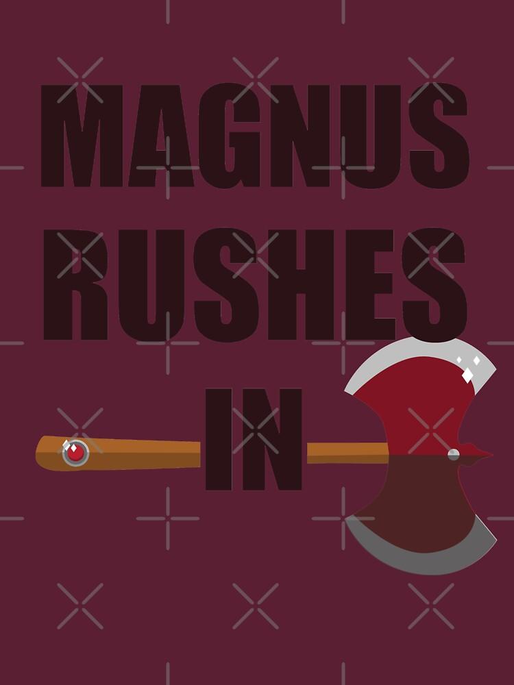 [TAZ] MAGNUS RUSHES IN! by seasofstars
