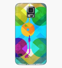 Abstract Vinyl Record Turntable Case/Skin for Samsung Galaxy