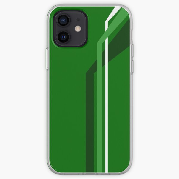 Flying Vanes - Green iPhone Soft Case