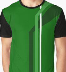 Flying Vanes - Green Graphic T-Shirt