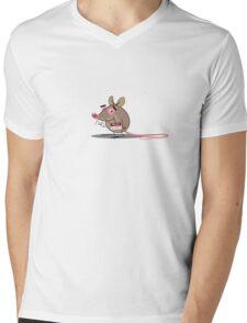 Mr. Elephant Mens V-Neck T-Shirt