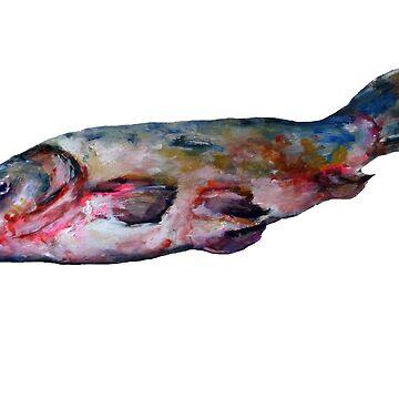 Carp fish shirt by seabasser