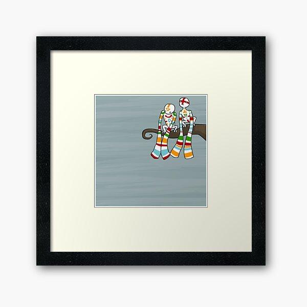Dangle Framed Art Print