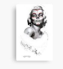 Marilyn Muerte Metallbild