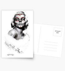 Marilyn Muerte Postkarten
