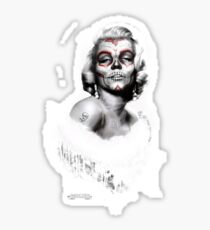 Marilyn Muerte Sticker