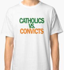 Catholics VS Convicts Tshirt Football ND v Miami Classic T-Shirt