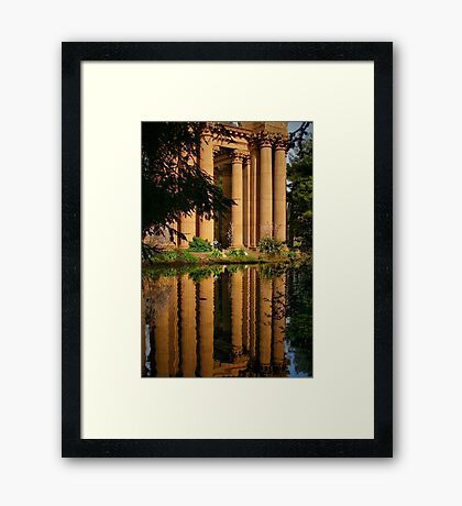 Classical Reflection Framed Print