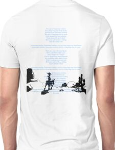 Lucky Luke fin scene with ending credits (2) Unisex T-Shirt