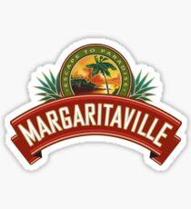 Jimmy Buffett Escape to Paradise Margaritaville Sticker