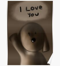 I love you  Poster