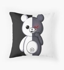 Monokuma Throw Pillow