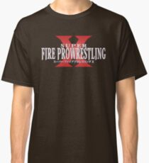 Super Fire Pro Wrestling X - Version 1 Classic T-Shirt