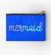 psychedelic mermaid  Studio Pouch