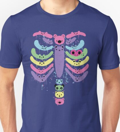Bear Bones Kawaii Drip T-Shirt