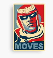 MOVES Canvas Print