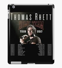 Thomas Rhett Tour Dates 2017 iPad Case/Skin