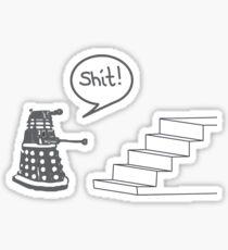 Shit Dalek Sticker
