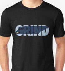 Grind State (Dark Blue) Slim Fit T-Shirt