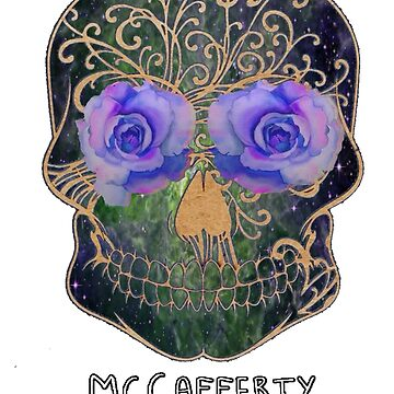 Mccafferty Space Skull by RainbowAvenger