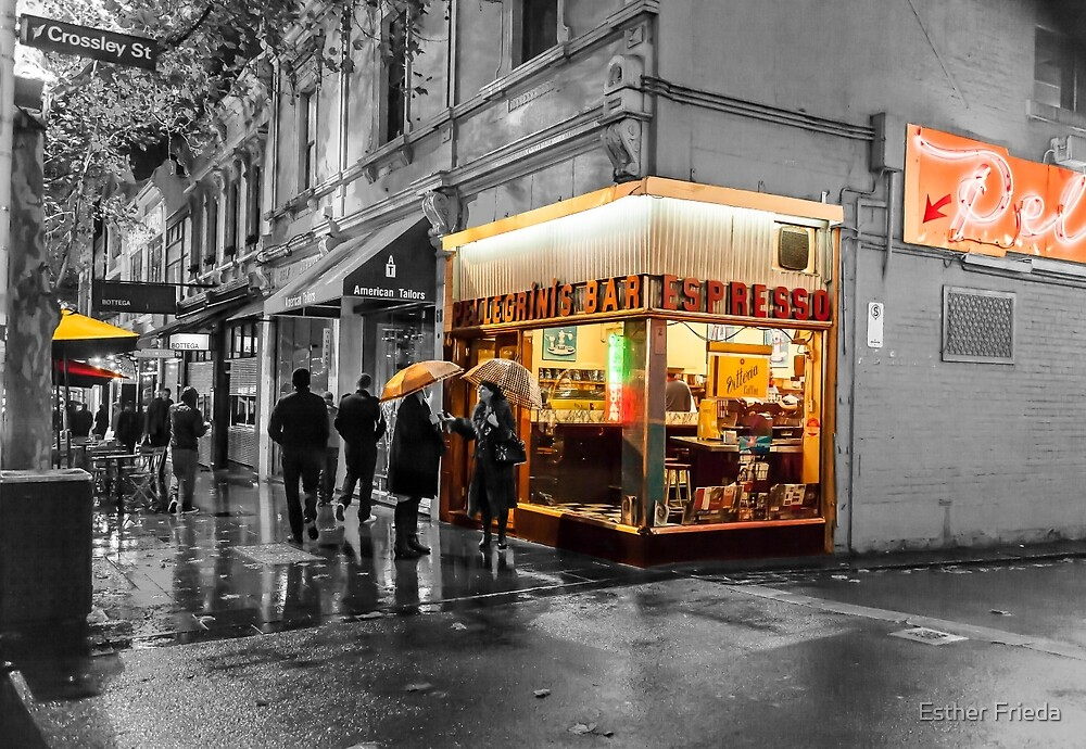 Pellegrinis night rain colour 3 by Esther Frieda