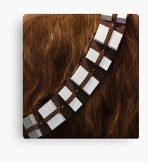 Chewbacca Utility Belt Canvas Print