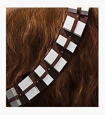 Chewbacca Utility Belt Photographic Print