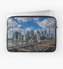 Funda para portátil Brooklyn Bridge, New York, USA.